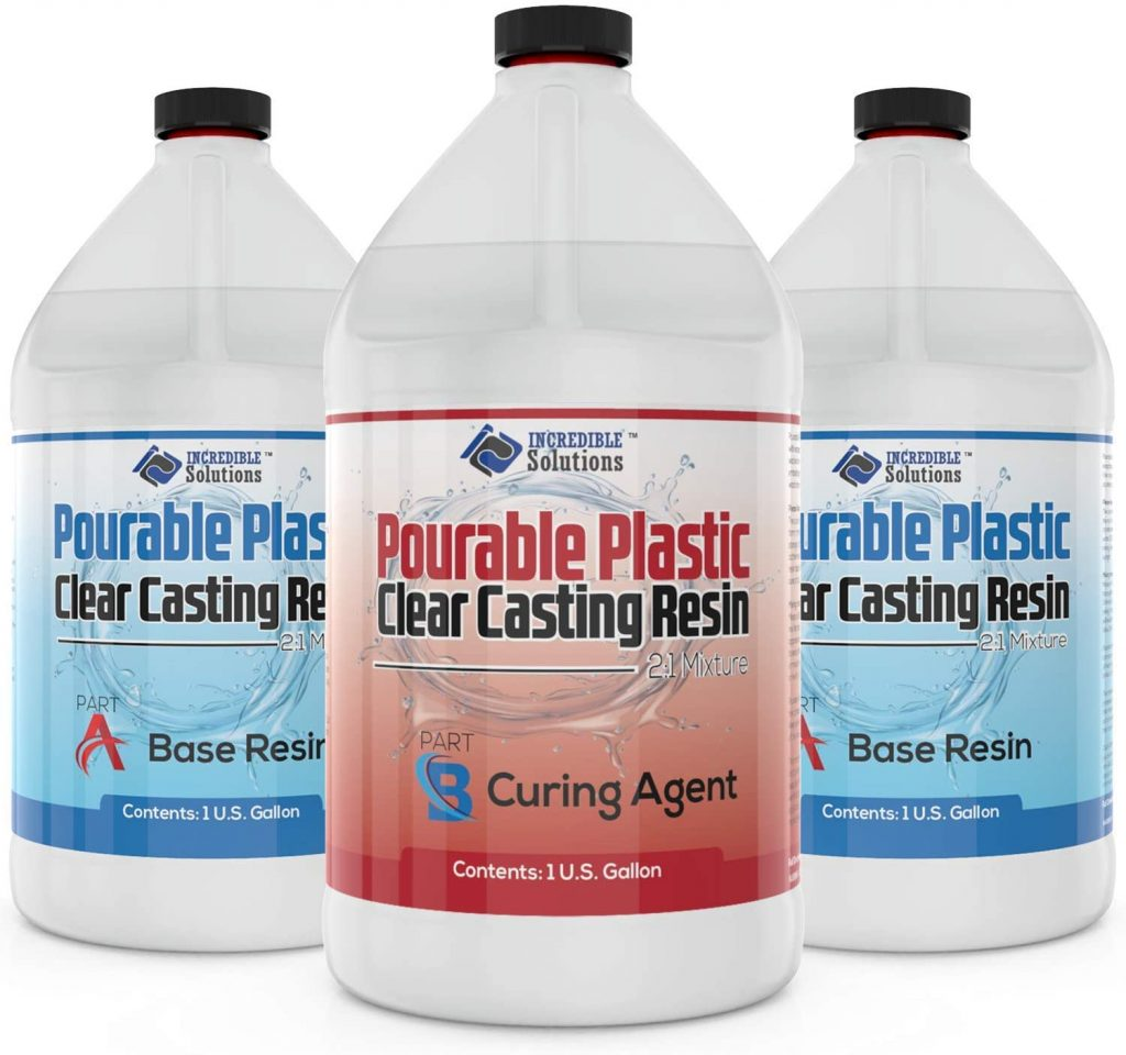3 Gallon DEEP Pourable Plastic Casting Resin