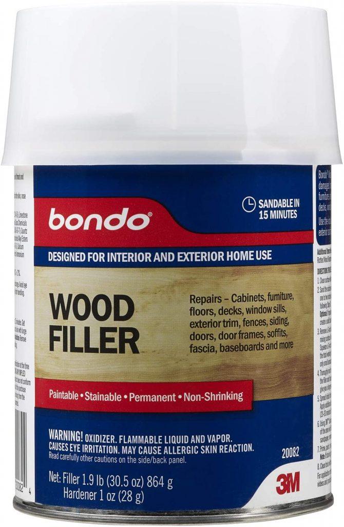 Bondo 20082 Home Solutions Wood Filler 1 Quart