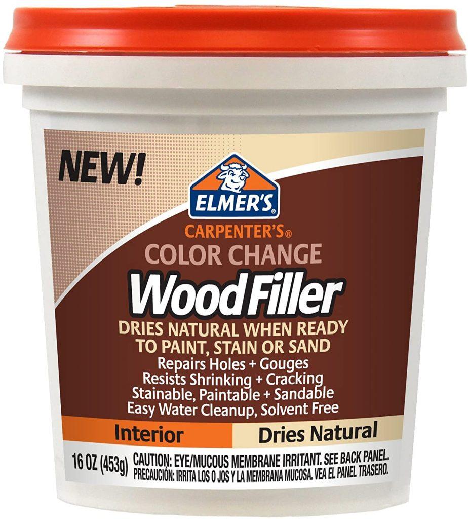 Elmer's E914 Carpenter's Color Change Wood Filler