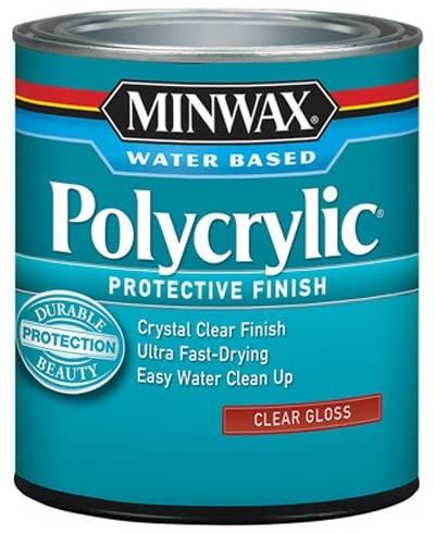 Minwax 255554444 Minwax Polycrylic Water-Based Protective Finishes