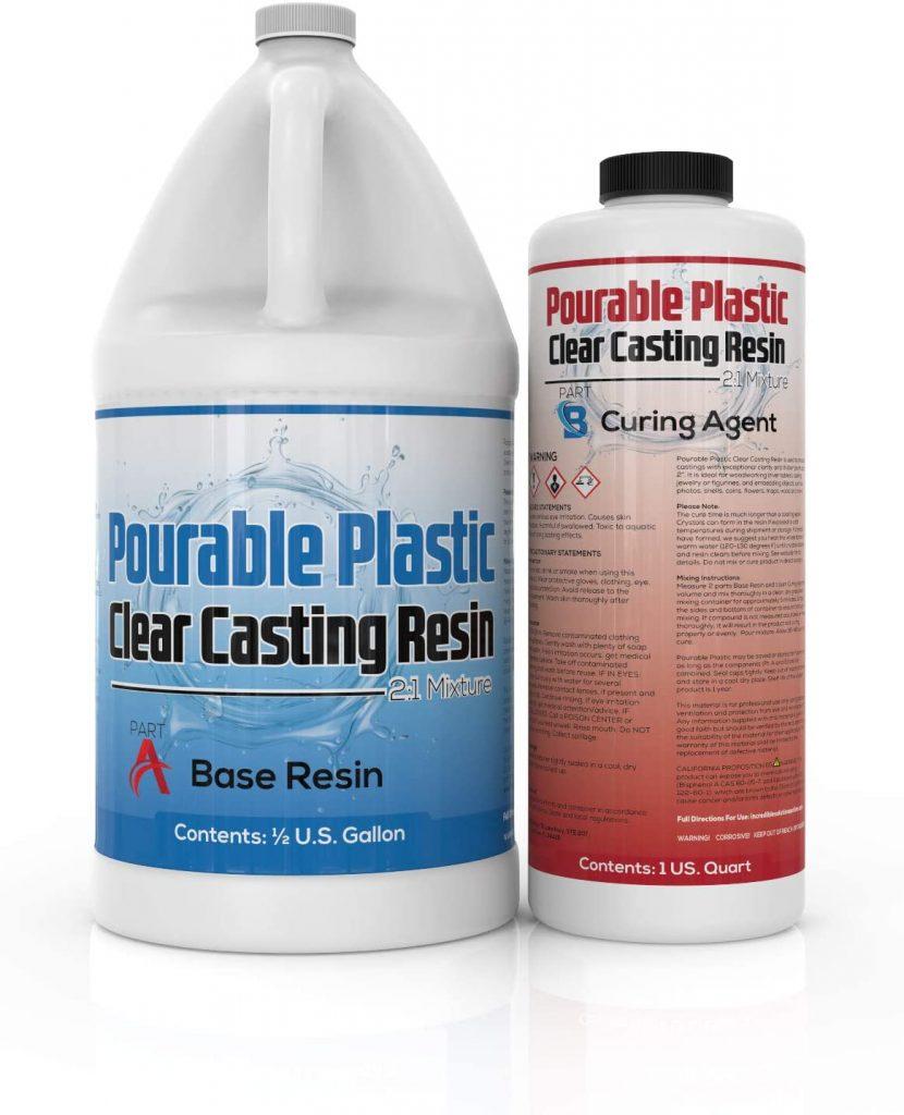 Pourable Plastic Deep Pour Clear Casting Resin