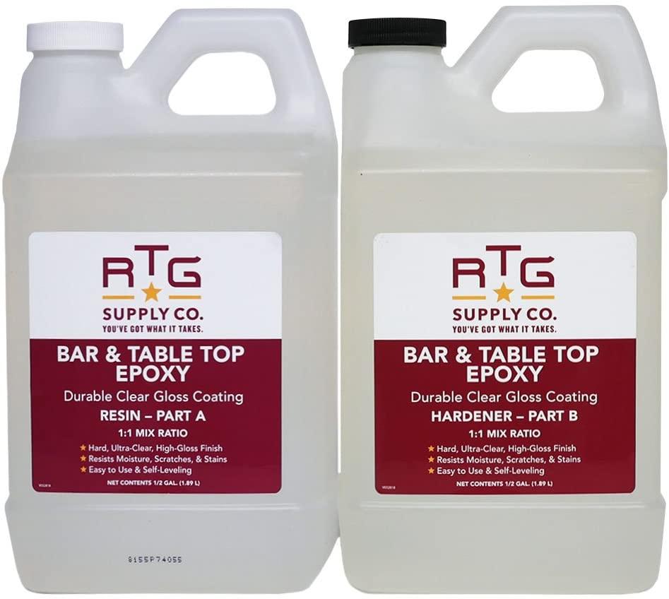 RTG Supply Co. Bar & Table Top Epoxy Resin