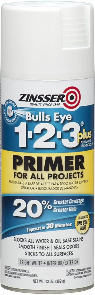 Rust-Oleum 272479 Zinsser Bulls Eye 1-2-3 Plus Spray Primer