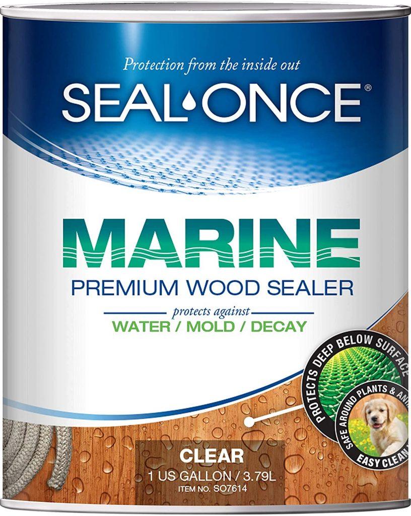 SEAL-ONCE MARINE - 1 Gallon Penetrating Wood Sealer