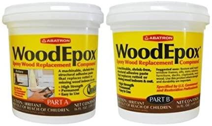 WoodEpox Wood Replacement Compound 2 Pint Kit