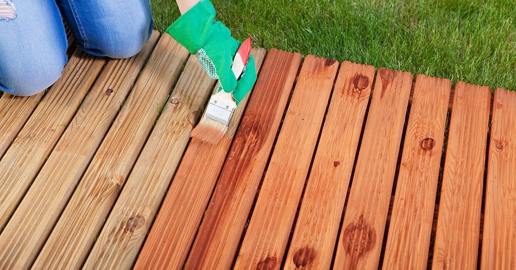 How to stain over Polyurethane